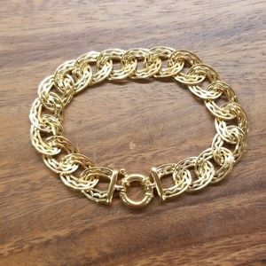 💖14K Real Yellow Gold Italian Tuscany Bracelet